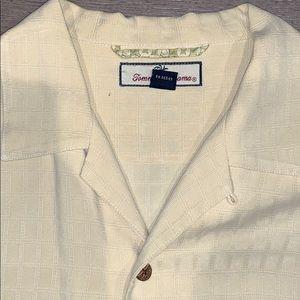 EUC Tommy Bahama Silk Shirt, Large